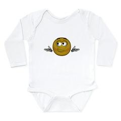 Don't know Long Sleeve Infant Bodysuit