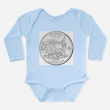 Arizona Long Sleeve Infant Bodysuit