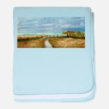 Country Lane baby blanket
