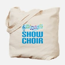 Show Choir School Music Tote Bag