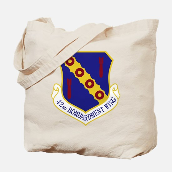 42nd Bomb Wing Tote Bag