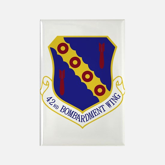 42nd Bomb Wing Rectangle Magnet