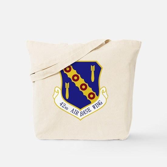 42nd Air Base Wing Tote Bag