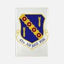 42nd Air Base Wing Rectangle Magnet