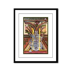 Cultural Icon Framed Panel Print