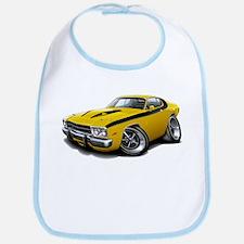 Roadrunner Yellow-Black Car Bib