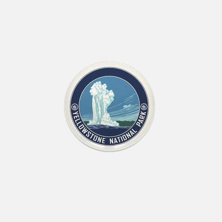 Yellowstone Travel Souvenir Mini Button