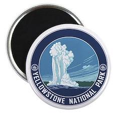 Yellowstone Travel Souvenir Magnet