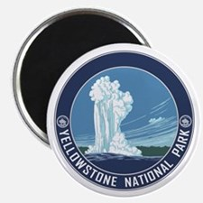 Yellowstone Travel Souvenir Magnet