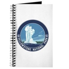 Yellowstone Travel Souvenir Journal