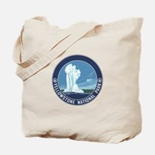 Yellowstone Travel Souvenir Tote Bag