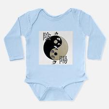 YinYang Harmony Long Sleeve Infant Bodysuit