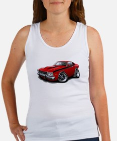 Roadrunner Red-Black Car Women's Tank Top