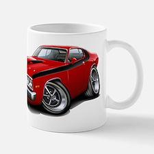 Roadrunner Red-Black Car Mug