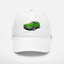 Roadrunner Lime-Black Car Baseball Baseball Cap