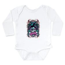 Anarchy Long Sleeve Infant Bodysuit