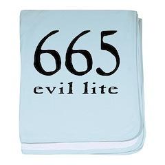 665 Evil Lite baby blanket