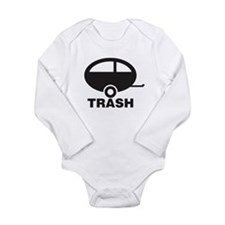 Trailor Trash Long Sleeve Infant Bodysuit