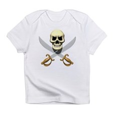 Pirate Skull and Swords Infant T-Shirt