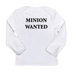 Minion Wanted Long Sleeve Infant T-Shirt