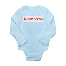 Cyber Hottie Long Sleeve Infant Bodysuit
