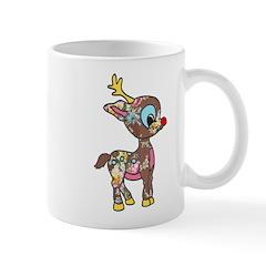 Lil Vintage Rudolph Mug