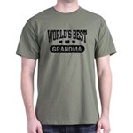 World's Best Grandma Dark T-Shirt