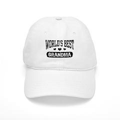 World's Best Grandma Baseball Cap