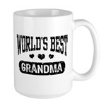 World's Best Grandma Large Mug