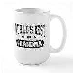World's Best Grandma Large Mug