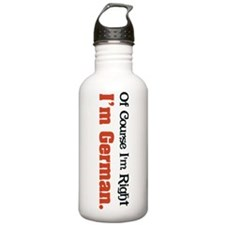 I'm German Water Bottle