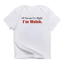 I'm Welsh Infant T-Shirt