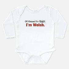 I'm Welsh Onesie Romper Suit