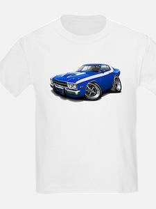 Roadrunner Blue-White Car T-Shirt