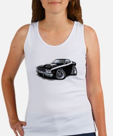 Roadrunner Black-White Car Women's Tank Top