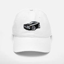 Roadrunner Black-White Car Baseball Baseball Cap