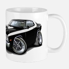 Roadrunner Black-White Car Mug