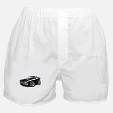 Roadrunner Black-White Car Boxer Shorts