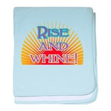 Rise and Whine baby blanket