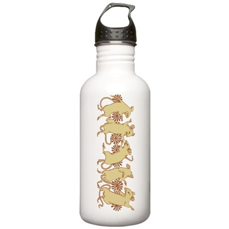 Dancing Mice Stainless Water Bottle 1.0L