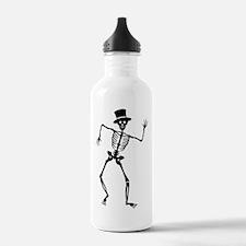 Dancing Skeleton Water Bottle