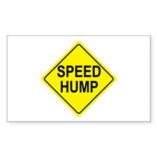 Speed Hump Sign Decal