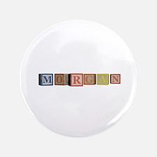 "Morgan Alphabet Block 3.5"" Button (100 pack)"