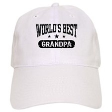 World's Best Grandpa Baseball Baseball Cap
