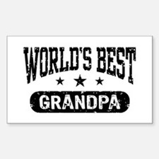 World's Best Grandpa Decal
