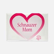 Pug Mom Rectangle Magnet (10 pack)