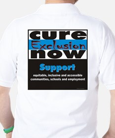 Cure Exclusion Apparel Golf Shirt
