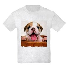 HAPPY BULLDOG PUPPY T-Shirt