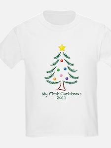 My First Christmas 2011 T-Shirt