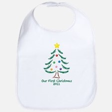 Our First Christmas 2011 Bib
